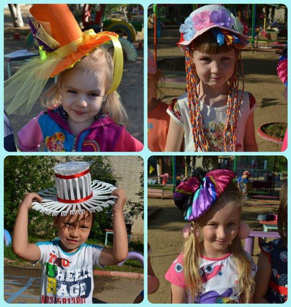 Детские шляпки для конкурса